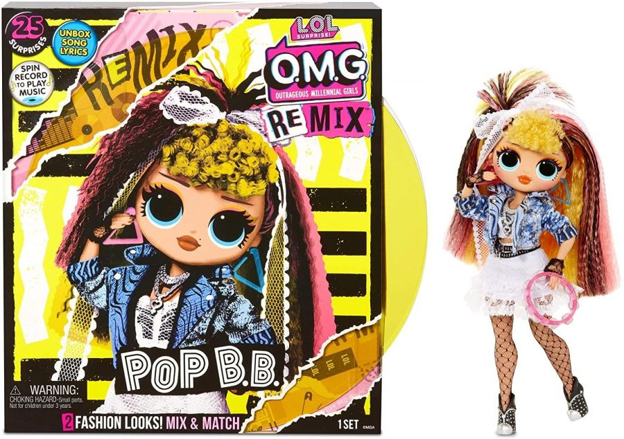 L.O.L. Surprise! O.M.G Remix Doll Pop B.B.