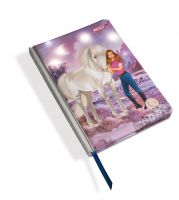 Nici 44915 - Notizbuch Hardcover Soulmates Mystery Hearts mit LED