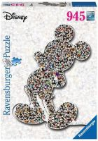 Ravensburger 16099 - Shaped Mickey - Puzzle, 945 Teile