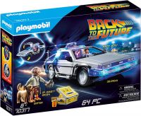 PLAYMOBIL Back to the Future 70317 - DeLorean mit Lichteffekten