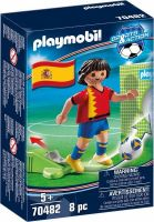 PLAYMOBIL® 70482 - Sports & Action Nationalspieler Spanien - Fußball