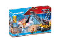 PLAYMOBIL® 70442 City Action Seilbagger mit Bauteil