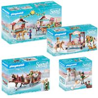 Playmobil Spirit Winter - Komplett-Set # 70395, # 70396, # 70397, # 70398
