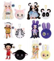 MGA Entertainment Na! Na! Na! Surprise 2-in-1 Pom Doll Serie 3, 1 Stück, sortiert
