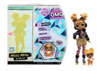 L.O.L. Surprise! OMG Winter Chill Puppe Missy Meow and Baby Cat - MGA Entertainment